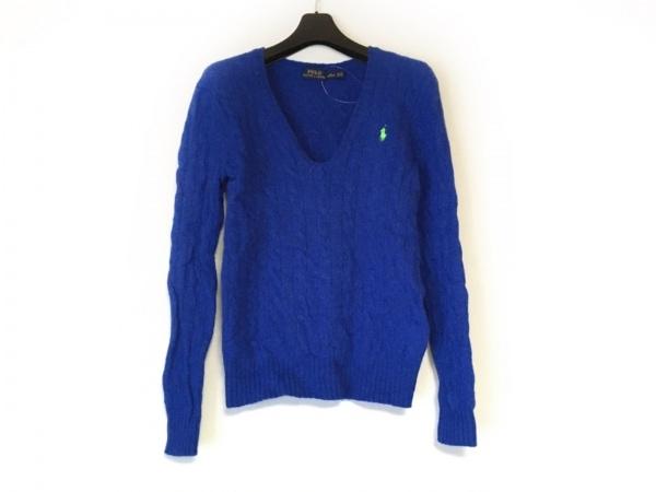 POLObyRalphLauren(ポロラルフローレン) 長袖セーター サイズS レディース ブルー