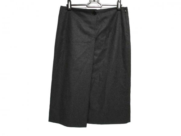 JILSANDER(ジルサンダー) スカート サイズ36 S レディース ダークグレー
