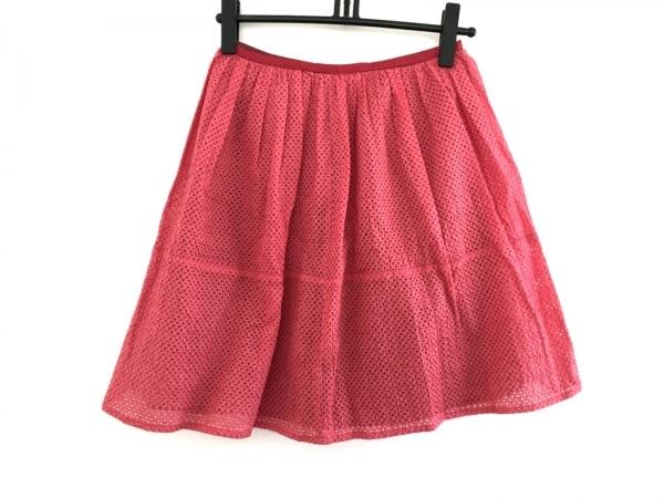 ESTNATION(エストネーション) スカート サイズ38 M レディース レッド