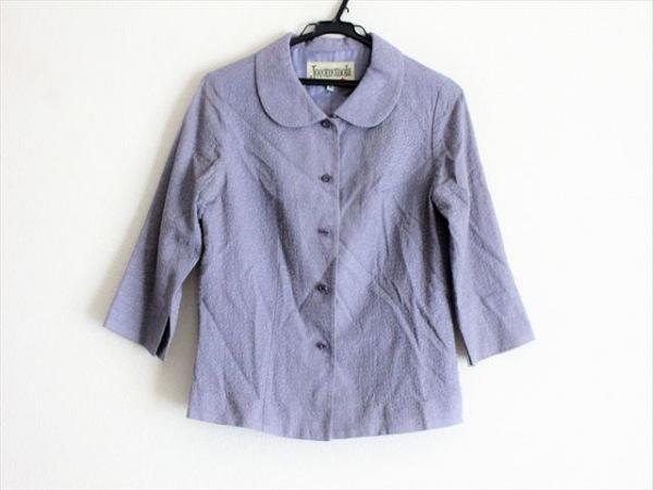 JOCOMOMOLA(ホコモモラ) ジャケット サイズ40 XL レディース パープル 刺繍