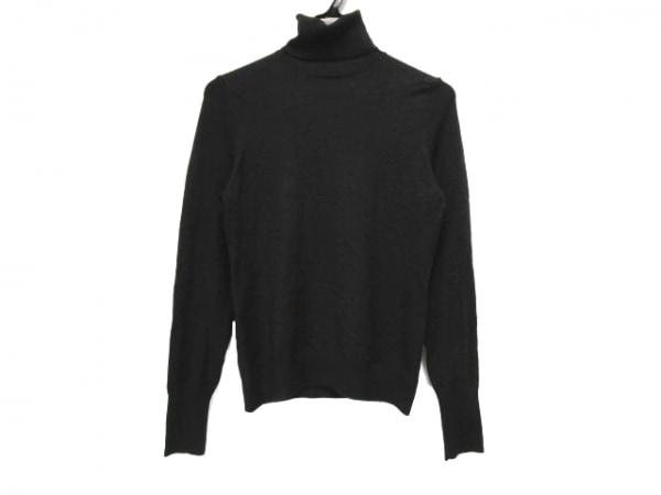 AMACA(アマカ) 長袖セーター サイズ38 M レディース 黒 タートルネック