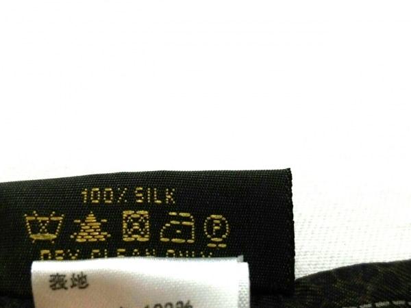 ルイヴィトン スカーフ 120 x 6 cm美品  バンドー・ニュー デニム M72396 エベヌ