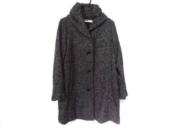 KEIKO KISHI(ケイコキシ) コート サイズ2 M レディース美品  グレー×黒 by nosh/冬物