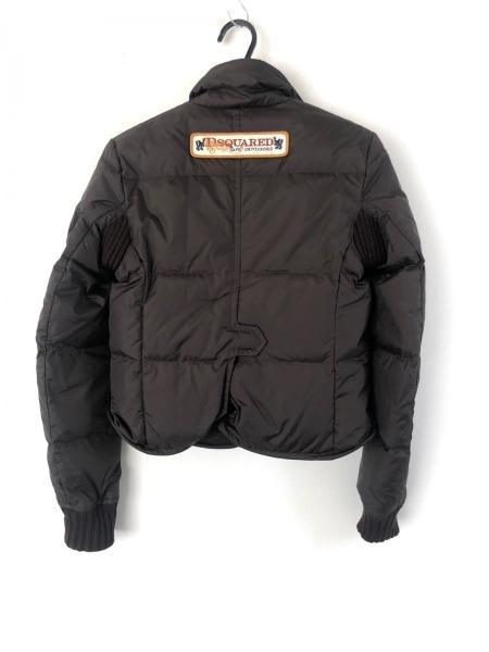 ディースクエアード ダウンジャケット サイズ40 M レディース美品  ブラウン 冬物