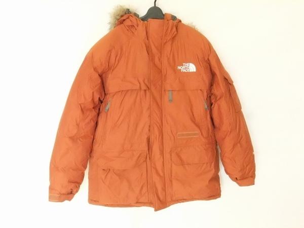 THE NORTH FACE(ノースフェイス) ダウンジャケット サイズM メンズ ブラウン 冬物