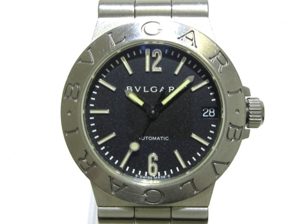 BVLGARI(ブルガリ) 腕時計 ディアゴノスポーツ LCV29S レディース 黒