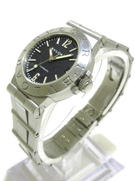 BVLGARI(ブルガリ) 腕時計 ディアゴノスポーツ LCV29S レディース 黒 2