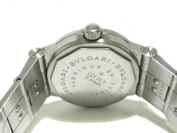 BVLGARI(ブルガリ) 腕時計 ディアゴノスポーツ LCV29S レディース 黒 3
