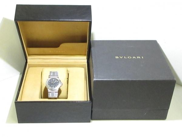 BVLGARI(ブルガリ) 腕時計 ディアゴノスポーツ LCV29S レディース 黒 9