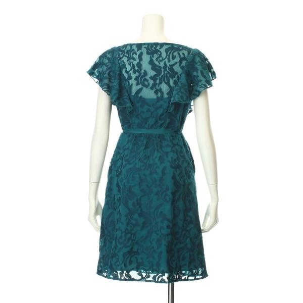 アンソロポロジー ドレス サイズ2(S/7号) レディース新品同様  グリーン系