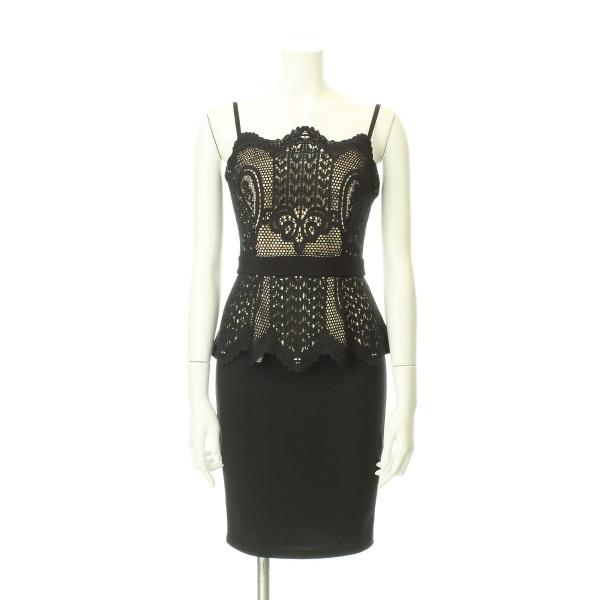 リプシー ドレス サイズ8(S/7号) レディース新品同様  ブラック系 カクテルドレス