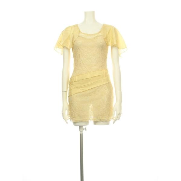 TOPSHOP(トップショップ) ドレス レディース新品同様  ベージュ系 カクテルドレス