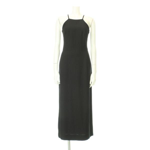 キャロル ドレス レディース新品同様  ブラック系 ロングドレス ポリエステル100%