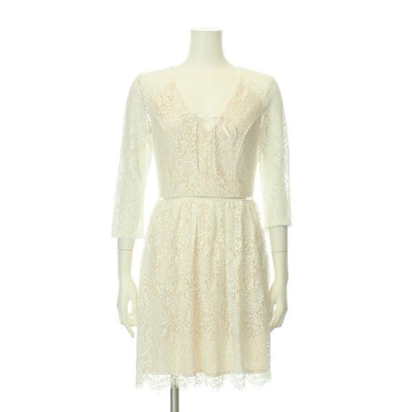 リプシー ドレス レディース新品同様  ホワイト系 カクテルドレス 1