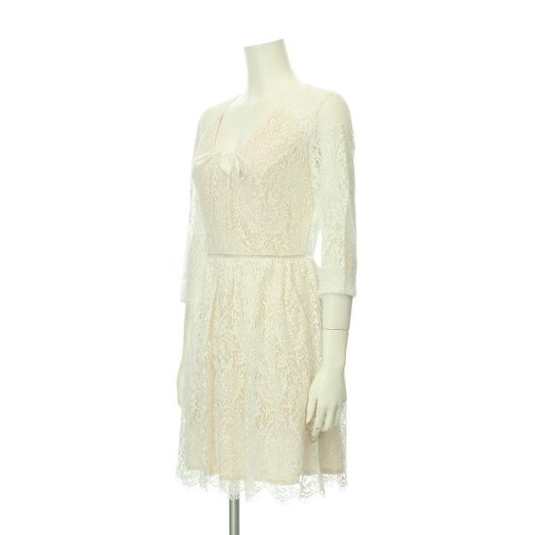 リプシー ドレス レディース新品同様  ホワイト系 カクテルドレス 2