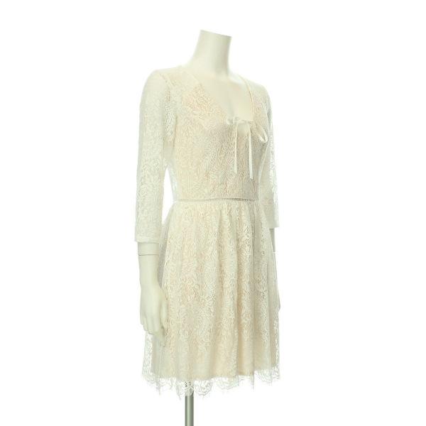 リプシー ドレス レディース新品同様  ホワイト系 カクテルドレス 3