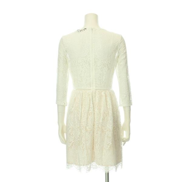 リプシー ドレス レディース新品同様  ホワイト系 カクテルドレス 4