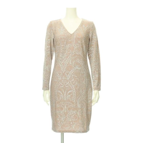 MARINA(マリナ) ドレス レディース新品同様  ベージュ系 カクテルドレス