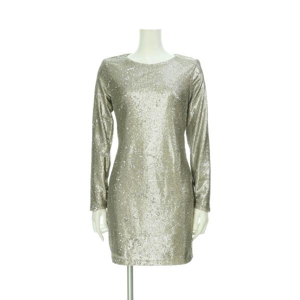 LIPSY(リプシー) ドレス レディース新品同様  ゴールド系 カクテルドレス