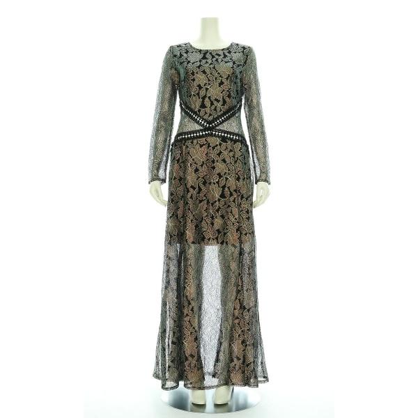 boohoo(ブーフー) ドレス レディース新品同様  マルチ ロングドレス