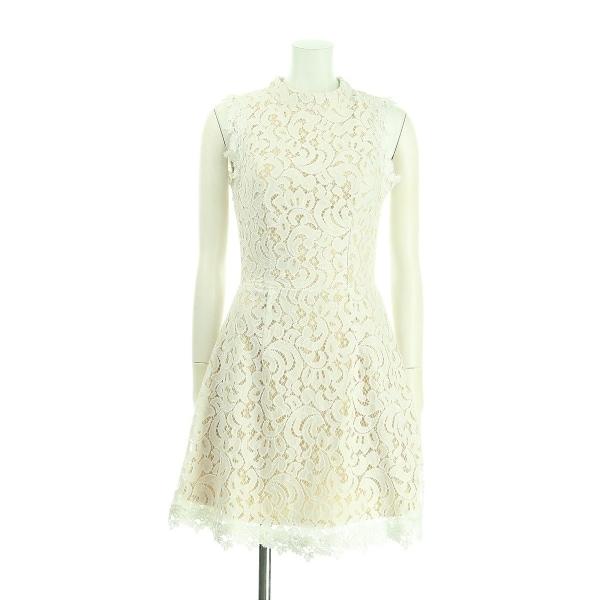 フランチェスカ ドレス サイズS(M/9号) レディース新品同様  ホワイト系