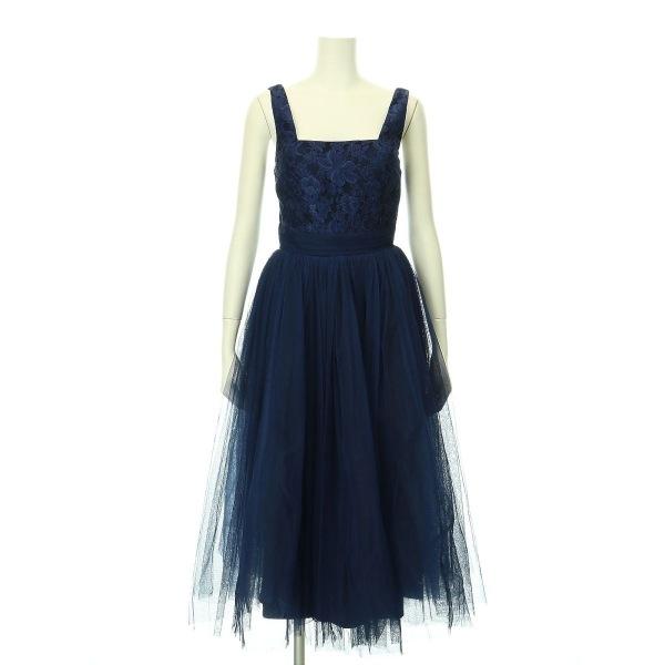 リトルミストレス ドレス サイズ8(S/7号) レディース新品同様  ネイビー系