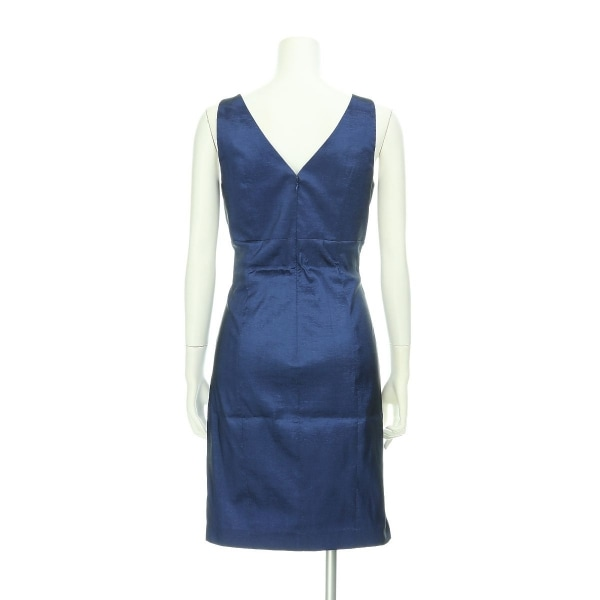 カルバンクライン ドレス レディース新品同様  ネイビー系 カクテルドレス