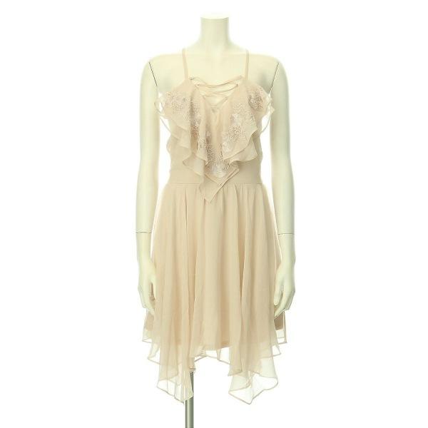 リプシー ドレス レディース新品同様  ピンク系 カクテルドレス ポリエステル100%