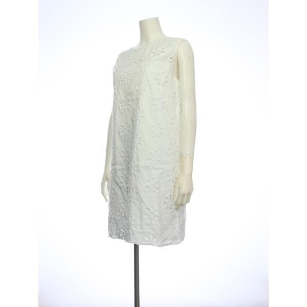 アンソロポロジー ドレス レディース新品同様  ホワイト系 カクテルドレス