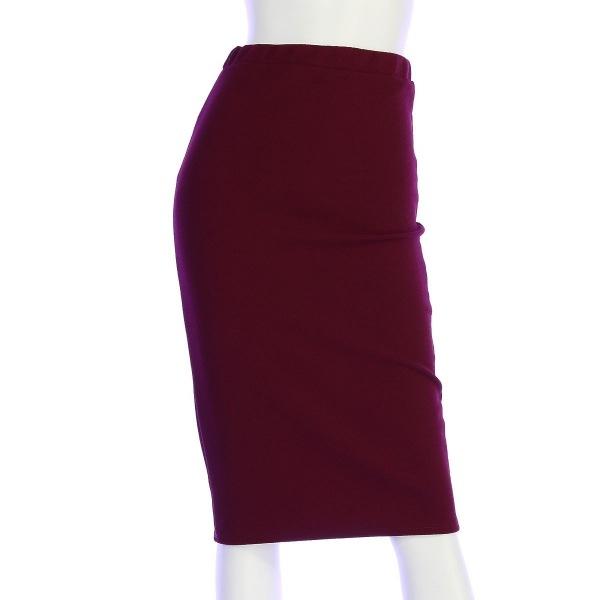 モアU.S.A. スカート サイズS(S/7号) レディース新品同様  レッド系 タイトスカート