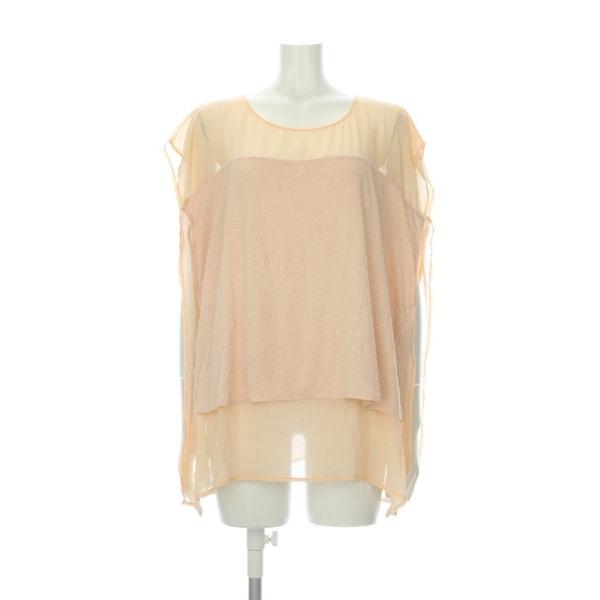 ザラ Tシャツ サイズM レディース新品同様  ZARA/ザラ ピンク系 Tシャツ・カットソー