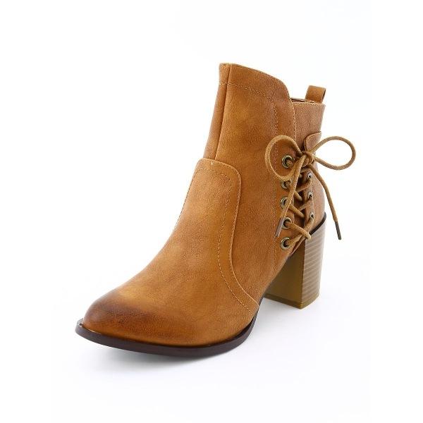 OLIVIA MILLER(オリビアミラー) ブーツ レディース新品同様  ブラウン系 ブーツ