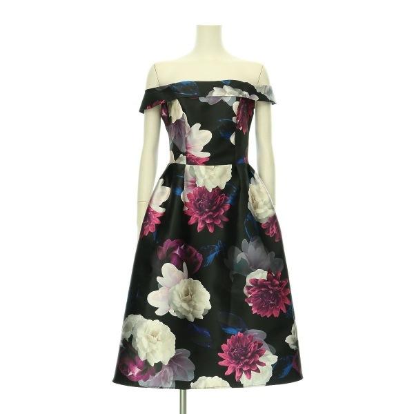 ドロシーパーキンス ドレス レディース新品同様  ブラック系 カクテルドレス
