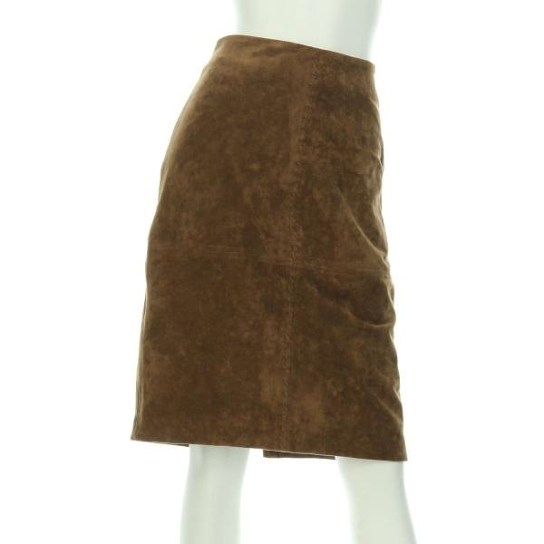 イヴァンカトランプ スカート サイズ4(M/9号) レディース新品同様  ブラウン系