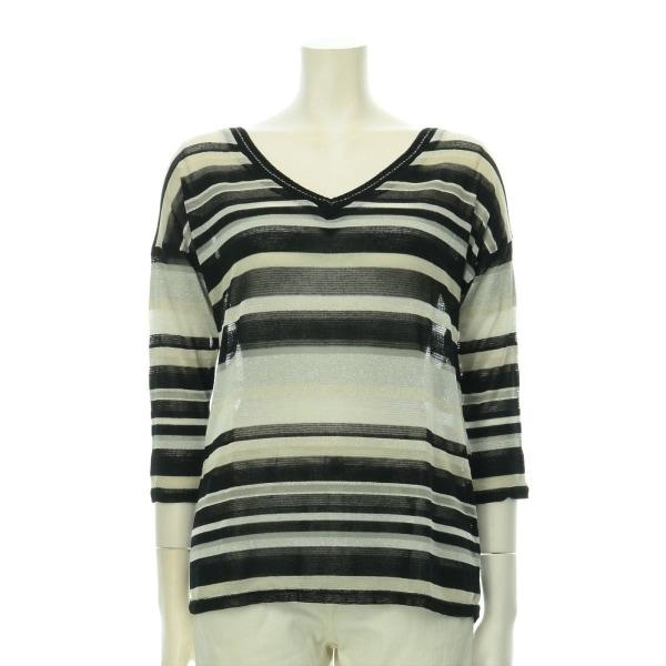 MORGAN(モルガン) セーター サイズS(M/9号) レディース新品同様  ブラック系