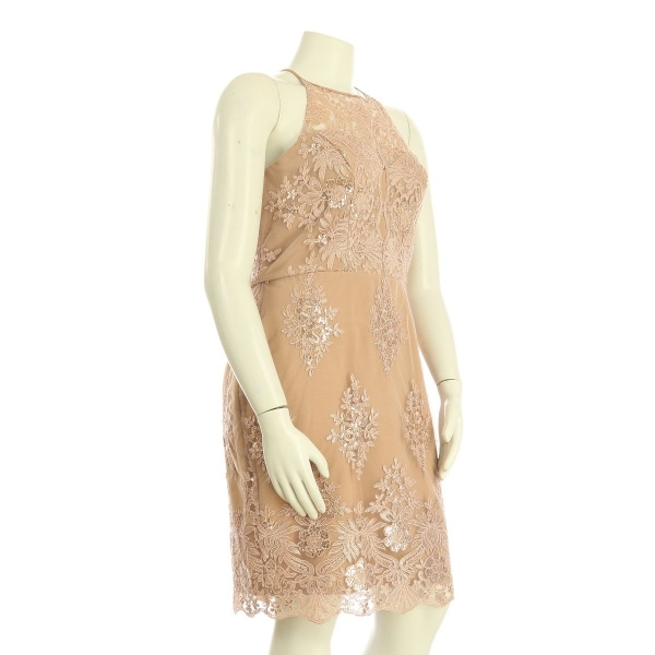 リプシー ドレス レディース新品同様  ピンク系 カクテルドレス 3