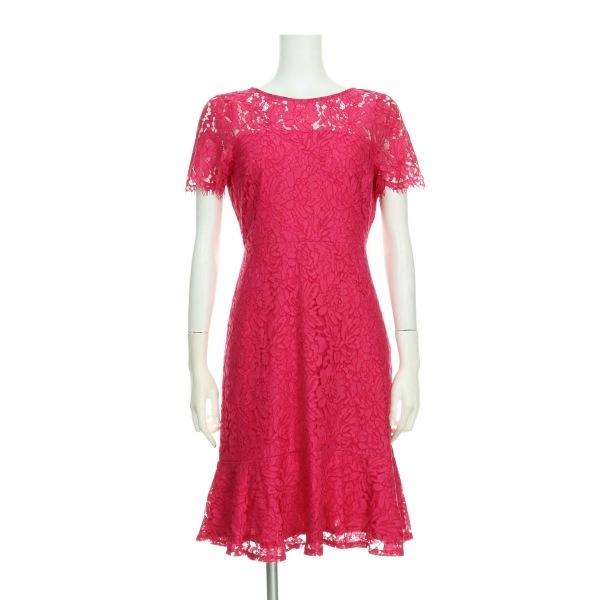 ノーブランド ドレス サイズ8 M レディース新品同様  Wallis/ウォリス ピンク系