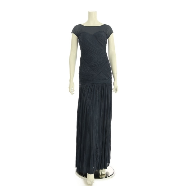 ホルストンヘリテージ ドレス レディース新品同様  ネイビー系 ロングドレス