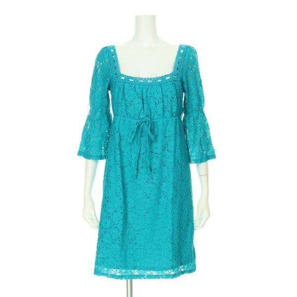 ランドリーバイデザイン ドレス レディース新品同様  ブルー系 カクテルドレス