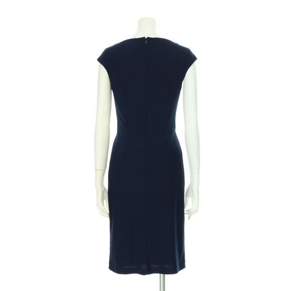 ジェイエスブティック ドレス レディース新品同様  ネイビー系 カクテルドレス