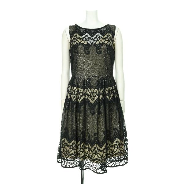 ジュリアンテイラー ドレス レディース新品同様  ブラック系 カクテルドレス