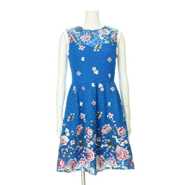Orsay(オルセー) ドレス レディース新品同様  ブルー系 カクテルドレス