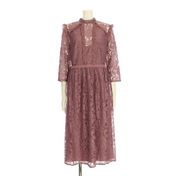 リトルミストレス ドレス レディース新品同様  ピンク系 ロングドレス