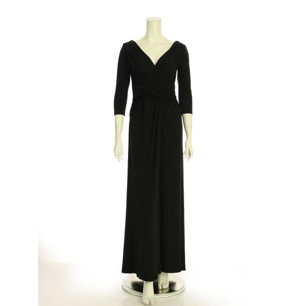 TADASHISHOJI(タダシショージ) ドレス レディース新品同様  ブラック系 ロングドレス