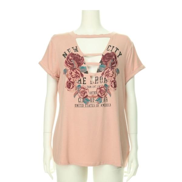 VENUS(ビーナス) カットソー レディース新品同様  ピンク系 Tシャツ・カットソー