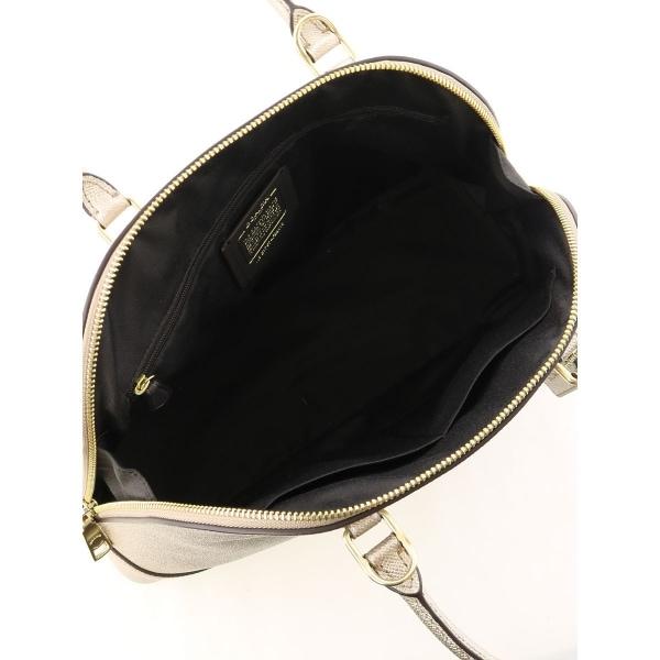 COACH(コーチ) ハンドバッグ ONESIZE新品同様  ゴールド系 ハンドバッグ 表示なし