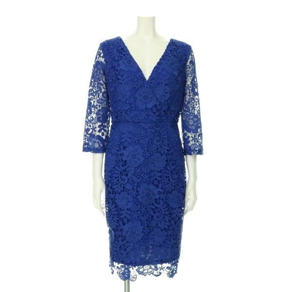 Paper Dolls(ペーパードールズ) ドレス レディース新品同様  ブルー系 カクテルドレス