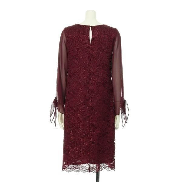 ドロシーパーキンス ドレス レディース新品同様  レッド系 カクテルドレス