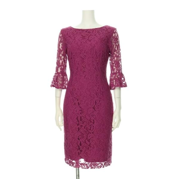 ローマン ドレス レディース新品同様  ピンク系 カクテルドレス 1