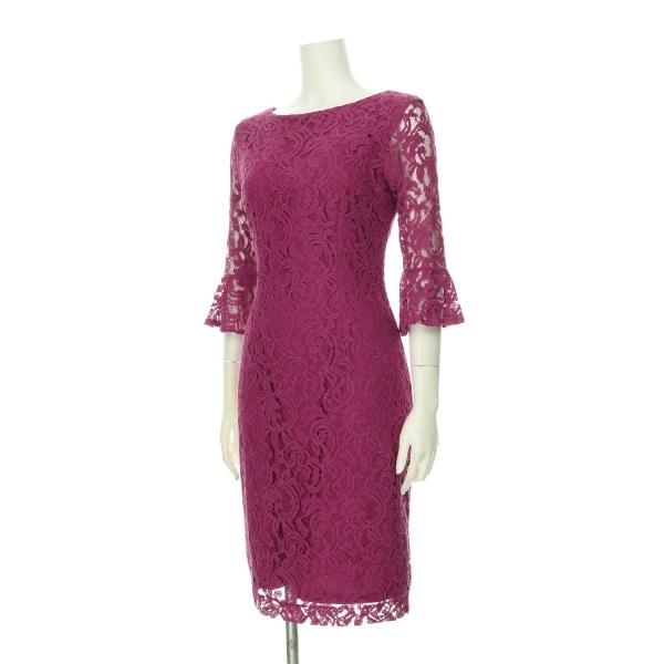 ローマン ドレス レディース新品同様  ピンク系 カクテルドレス 2